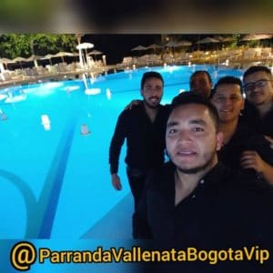 Integrantes de la Parranda Vallenata Vip en eventos 24 horas