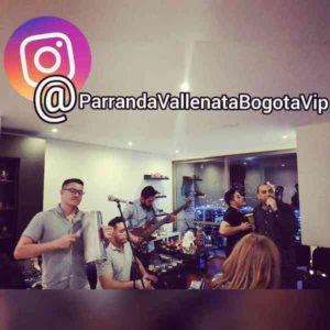 Grupo de Parranda Vallenata tocando en evento privado