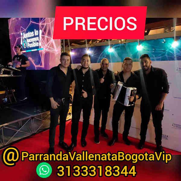 Grupo de Parranda Vallenata con información de Precios